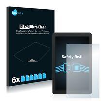 6x Displayschutzfolie für Cowon X9 Schutzfolie Klar Folie Displayfolie