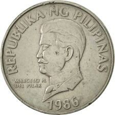 [#419028] Philippines, 50 Sentimos, 1986, TTB+, Copper-nickel, KM:242.1