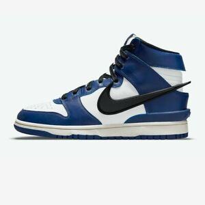 Nike x AMBUSH Dunk High Deep Royal Size 11.5 CU7544-400 IN HAND   FREE SHIPPING