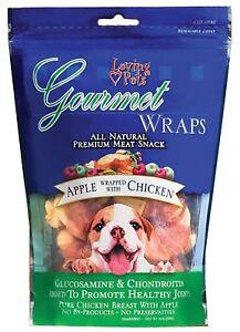 Loving Pet Gourmet Apple Wrapped In Chicken Wrap 6oz
