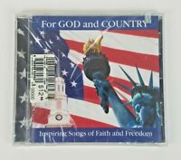 For God and Country Inspiring Songs of Faith and Freedom Patriotic New Sealed