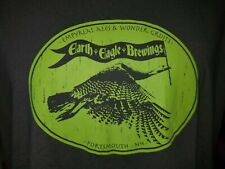 Empyreal Ales & Wonder Gruits Earth Eagle Brewings Portsmouth NH gray XL t-shirt
