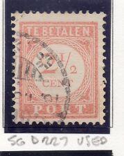 Dutch Indies 1913-39 Port Postage Due Issue Fine Used 2.5c. 163425