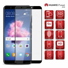 For Huawei P Smart (2018) FIG-LX1 - Black Full Glue Glass Screen Protector