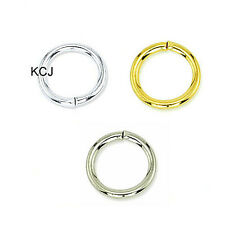 18 GAUGE GOLD PLATED JUMP RINGS 50 PCS 6MM OPEN JUMP RING FC79