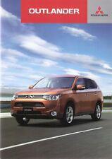 Prospekt / Brochure Mitsubishi Outlander 10/2012 +++JAPAN+++