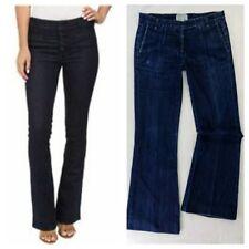 CURRENT / ELLIOTT Jeans the Mid Rise Neat TROUSER Birdie denim blue flare 28x29