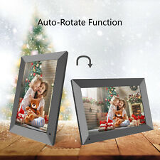 LCD Digital Photo Frame WiFi Cloud Share Pictures/Videos Instantly Touchscreen