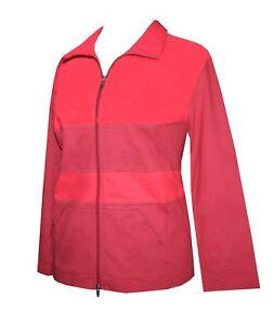 Damen Freizeitjacke Hoodie Sweatjacke Sweater Jacke Baumwolle rot Kurzgröße