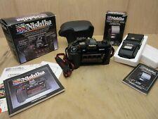Nishika N8000 3D Quadra Film Camera / Twin Light 3010 / Camera Case with Boxes