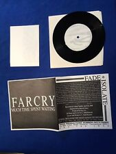 """Far Cry- """"Much Time Spent Waiting """" 7"""" - DCHC, Give, Damnation, Fugazi, Battery"""