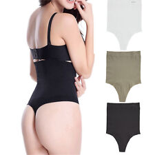 Women High Waist Butt Lifter Tummy Control Shaper Thong Panties Shapewear 11011