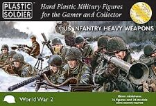 15MM US INFANTRY HEAVY WEAPONS - PLASTIC SOLDIER COMPANY - WW2