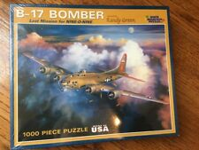White Mountain Puzzles B-17 Bomber 1000 Piece Jigsaw Puzzle Last Mission for 909
