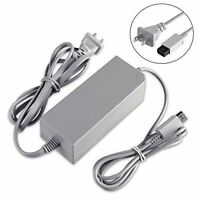 Fosmon Power Supply Charging Adapter Cable Cord For Nintendo Wii U Gamepad AC