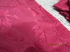 """SET OF 10 RED WINE COLOR-SWIRL DESIGN NAPKINS--16 1/2"""" ----#B15"""