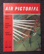 1970 July AIR PICTORIAL Magazine FN 6.0 Aviation - Short Skyvan - Ark Royal