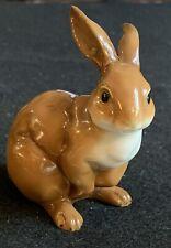Royal Copenhagen Style Porcelain Upright Bunny Rabbit 3 1/2�
