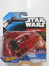 HOT WHEELS STAR WARS 2014  X - WING  FIGHTER  W/ FLIGHT NAVIGATOR