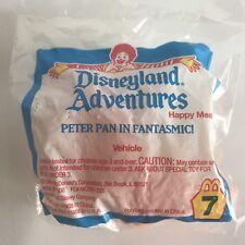 NEW McDonalds DISNEYLAND ADVENTURES Peter Pan Fantasmic HAPPY MEAL TOY disney #7