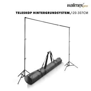 Walimex pro Teleskop Hintergrundsystem L 120-307cm