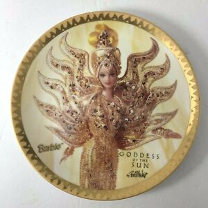 Barbie Rare Low Number Plate #97 Goddess Of The Sun Collector Bob Mackie Enesco