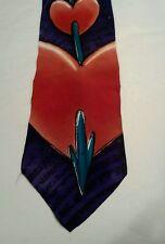 The BEATLES - Apple Corp - PS I Love You Manhattan Menswear Silk Men's Neck Tie