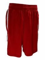 Nike Women's Dri Fit Basketball Short Red White Size Medium