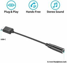 NEW iLuv USB-C to 3.5 mm Stereo Headphone Jack Type-C Adapter w/ DAC Chip (2pk.)