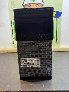 Dell Optiplex 790 MT i3 2120 3.3Ghz 4GB 250GB WINDOWS 10 PC TOWER READY TO GO