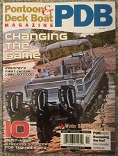 Pontoon Deck And Boat Changing The Game Tips Winter 2015 FREE SHIPPING!