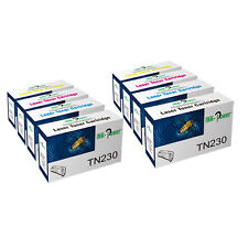 8 Toner Cartridges For Brother TN230 DCP-9010CN HL-3040CN HL-3070CW