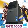 Fast Gaming PC Computer Intel Quad Core i5 16GB Windows 10 6GB GTX 1660 SSD WiFi