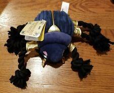 Bark Box Squeaky Zeke the Beetle Purple Tug Dog Toy Rope Legs Nwt Age Of Furoah