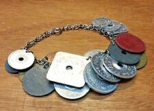 Bracelet Made Of Vintage Tax Tokens