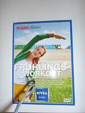 Das Frühlingsworkout Brigitte fitness [DVD] gebraucht gut