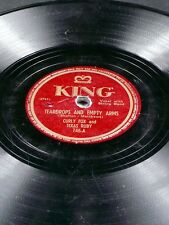 King 746 Curly Fox Texas Ruby TEARDROPS AND EMPTY ARMS / CHEATING ON ME 78 V-