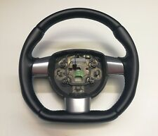 STEERING WHEEL FORD FOCUS RS  SPORT STYLE FLAT BOTTOM ! THICKER ALCANTARA