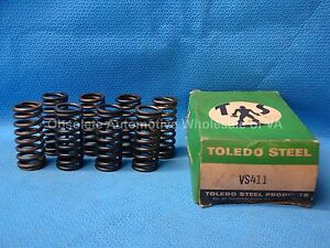 1937 1938 Oldsmobile 257 Outer Valve Spring Set 8 Straight Eight 408193 L37 L38