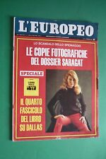 L'Européen 1967 Ann Margret + Dott. Gaetano Azzolina+Luchino Visconti+Cassius