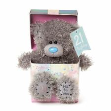 Me to You 21st Birthday Tatty Teddy Bear in Gift Box