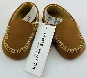 NWT New Janie and Jack 3-6 Months Brown Dress Shoes FREE SHIPPING