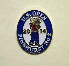 US OPEN Golf 2014 Pinehurst #2 souvenir lapel pin new Martin Kaymer putterboy
