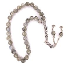 More details for labradorite worry beads genuine gemstone tasbih tesbih prayer subha 475