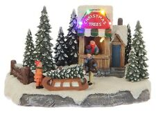 Luville-Christmas Trees, Christmas village Winter village Christmas Tree Stand,