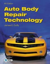 Auto Body Repair Technology by James Duffy (English) Hardcover Book Free Shippin