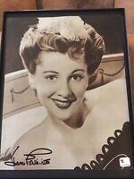 Joan Fontaine Rebecca Suspicion Oscar Signed Photo GAI GV/COA Weekend sale sale