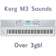 Most Sounds: Korg M3