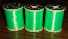 Gordon Griffiths Fluorescent Green Nylon Floss 25 Yard Spool