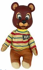 1965 Mattel Biff The Bear Pull String Plush Talks Speaks Mouth Moves Rare